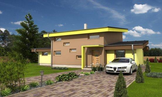 projekt domu TREND 292