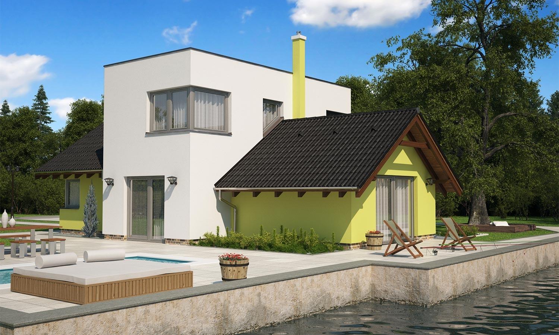 projekt domu TREND 293