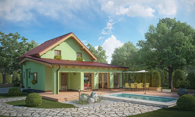 projekt domu TREND 294