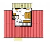 Pôdorys poschodia - TREND 295