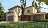 Moderný rodinný dom s garážou a terasou