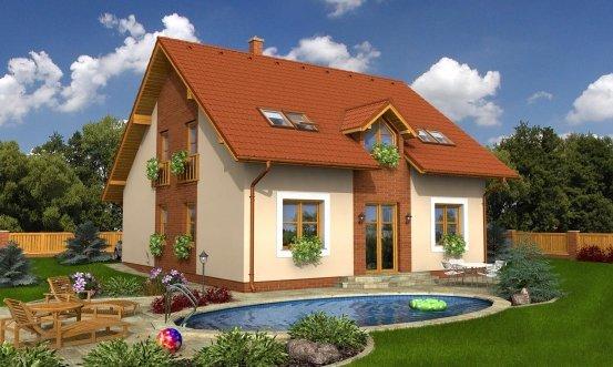 projekt domu TWIST