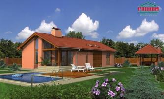 projekt domu UNO
