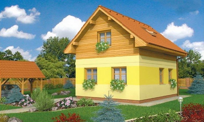 projekt domu VIKTORIA