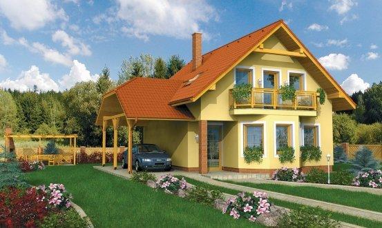 projekt domu VIOLA