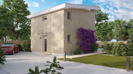 projekt domu ZEN 1
