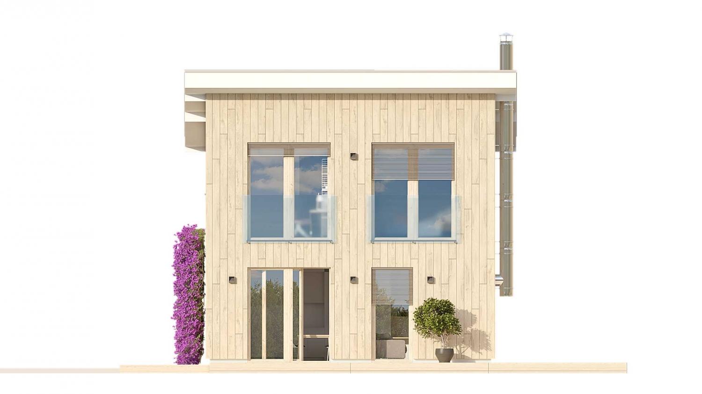Pohľad 3. - Malý rodinný dom vhodný aj ako rekreačná chata.