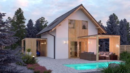 projekt domu ZEN 2